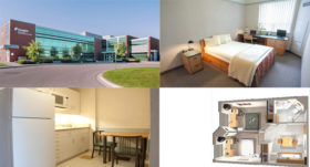 4 pictures of College and accommodations
